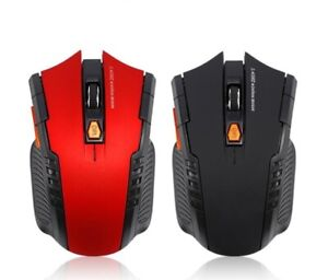 Gaming Mouse 2.4Ghz Portable Wireless Optical Mice With USB Receiver For All PC