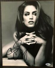 CINDY CRAWFORD SIGNED 8X10 PHOTO #6  AUTHENTIC BECKETT  REPRINT