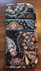 Vera Bradley Paisley Print Sunglass Holder Case