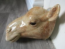 More details for large quail ceramics camel wall vase /wall pocket perfect and boxed