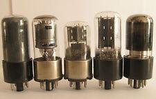 All Glass tube set 50L6GT, 35Z5GT, 12SA7GT, 12SK7GT, 12SQ7GT for AA5 radio