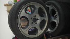 original BRABUS Monoblock IV Felgen,  4 Stück , 8,50 J x 18 H2 ET55 (mit Reifen)
