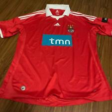 Football shirt soccer FC SL Benfica Portugal Cup Home 2009/2010 Adidas Red Size