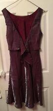 De La Rue Purple Formal Size 11/12 Dress