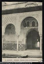 1102.-GRANADA -11 Alhambra -Entrada al Salón de Embajadores (Señan y González, f