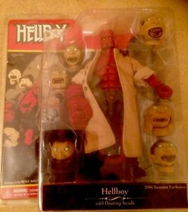 Mezco Hellboy with Floating Heads Action Figure 2006 SDCC Exclusive