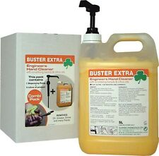 Case 2 x Buster Extra Beaded Hand Cleaner - Removes engineers oils & grease -
