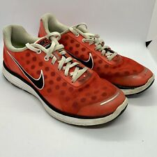 Ladies Nike Lunarswift 2 Trainers - Red with Black Polka Dot - Size 5