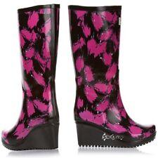 Wedge Women's Rubber Wellington Boots