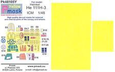 Model Maker 1/48 HEINKEL He-111H-3 Kabuki Tape Paint Mask Set for ICM Kit