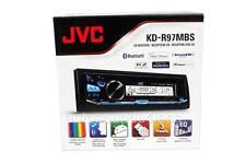 JVC KD-R97MBS Marine Car CD Player Bluetooth iHeart Radio Pandora Front USB AUX