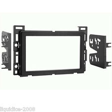 CT24CV03 CHEVROLET HHR 2006 to 2011 BLACK DOUBLE DIN FASCIA ADAPTER PANEL PLATE