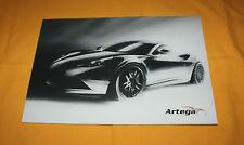Artega GT 2012 Prospekt Brochure Depliant Prospetto Catalog Broschyr Folder
