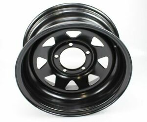 "Suzuki Jimny, SJ / Samurai 15"" Black 7"" Modular Steel Wheel ET-15"