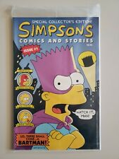 Simpsons Comics and Stories #1 Sealed with Poster Bongo Matt Groening FN/VF