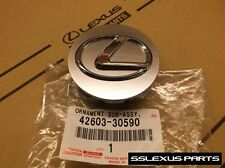 Lexus (2006-2013) OEM Genuine SILVER / GRAY CENTER CAP (x1) 42603-30590