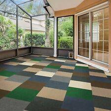 FlooringInc Infinite Carpet Tiles | Assorted | Peel & Stick | Indoor/Outdoor