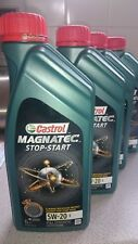 Castrol Magnatec Stop-Start 5W-20 E Fully Synthetic Engine Oil - 1 Litre Sealed