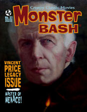 MONSTER BASH #37 Vincent Price ROGER CORMAN Lon Chaney Sr. Horror Magazine MINT!