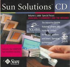 Sun Solutions CD Volume 1 2000  by Sun microsystems