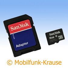 Scheda di memoria SANDISK MICROSD 16gb per Samsung Wave 725