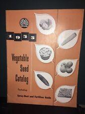 1955 Eastern States Cooperative Vegetable Seed Catalog Vintage.