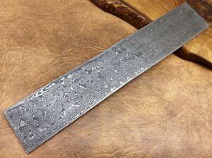 TITANs XL Original Damascus Steel Billet Bar Crafts Knife Making Raindrop 2970mm