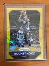 Rodney Hood 2015-16 Panini Prizm Gold Refractor /10 Non RC Auto