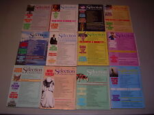 #12 Lot of all 12 months Sélection du Reader's Digest Complete Year 1987