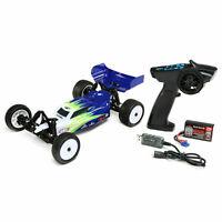Losi Mini-B MiniB 1/16 RTR 2WD Buggy (Blue) w/ 2.4GHz Radio, Battery & Charger