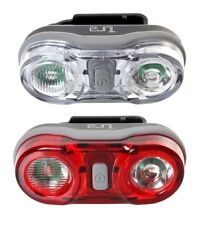 TURA COMPACT CYCLING LED BICYCLE LIGHTS WITH FRONT AND REAR ROAD COMMUTE