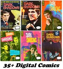 DARK SHADOWS Comics Collection #1-35 Complete Run GOLD KEY 1969 Digital DVD