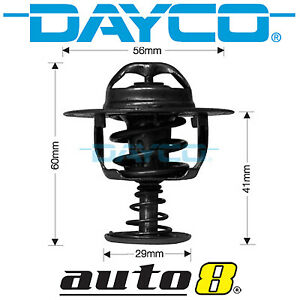 Dayco Thermostat for Mitsubishi Express (1986 - Current) SJ 2.4L  4G64 2006-On