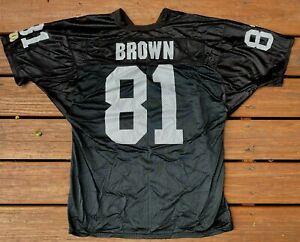 Tim Brown Oakland Raiders Wilson Mesh Jersey -  NEW L/46