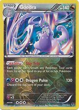 Goodra Reverse foil Pokemon 77/119 Xy Phantom Forces Rare Card