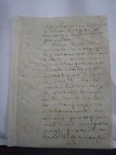 Document 1784 généralité de Tours cachet de 14 sols  palimseste