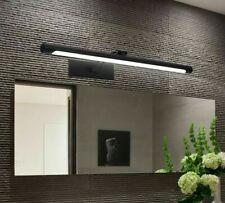 Wall Mounted Led Bathroom Mirror Light 8W 12W Indoor Stainless Steel Wall Lamp