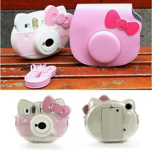 Camera Bag Case Cover For Fujiflim Fuji Instant Polaroid Instax Mini Hello Kitty