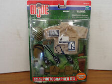 "GI Joe 1/6 12"" WW 2 US Military Photographer Accessory Set Battle Gear T39"