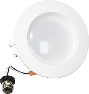 Feit LEDR56/827 1290 Lumen 2700K 5 & 6 Inch Dimmable Retrofit Kit - 120W 17.2w