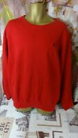 polo by ralph lauren men's red long sleeve sweatshirt size xl di