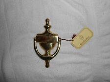 OLD VTG SOLID BRASS DOOR KNOCKER MADE IN SPAIN DOOR KNOCKER KNOCK DECOR NWT