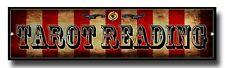TAROT READING METAL SIGN, FREAK SHOW, CIRCUS SHOW, RETRO,PALM READING,MYSTIC