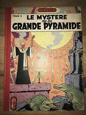 BLAKE & MORTIMER LE MYSTERE DE LA GRANDE PYRAMIDE T2