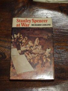 Stanley Spencer at war by Richard Carline