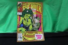 Marvel Comics The Sensational She-Hulk Comic Book Collectible Punch And Jen
