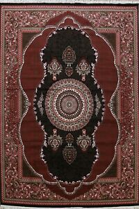 Transitional Geometric Floral Aubusson Turkish Oriental Large Area Rug 10x13 ft