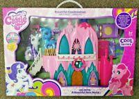 Frozen Elsa Ice Castle Palace Playset Toy Princess Elsa & Anna - Great Xmas Gift