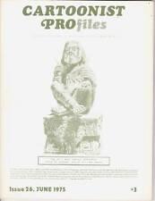 CARTOONIST PROFILES #26 - 1975 - Harvey Kurtzman, Norman Mingo, Fred Guardineer