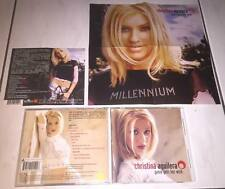 Christina Aguilera 1999 Genie Gets Her Wish Taiwan OBI 2 Video CD Promo Poster
